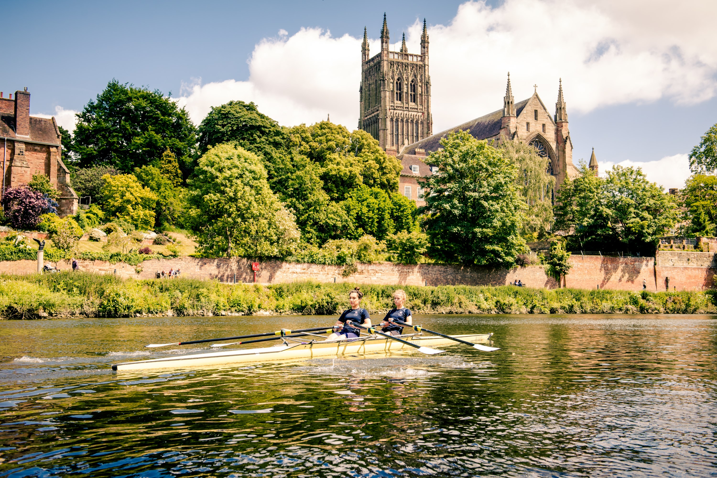 King's School Worcester, Rowing on the River
