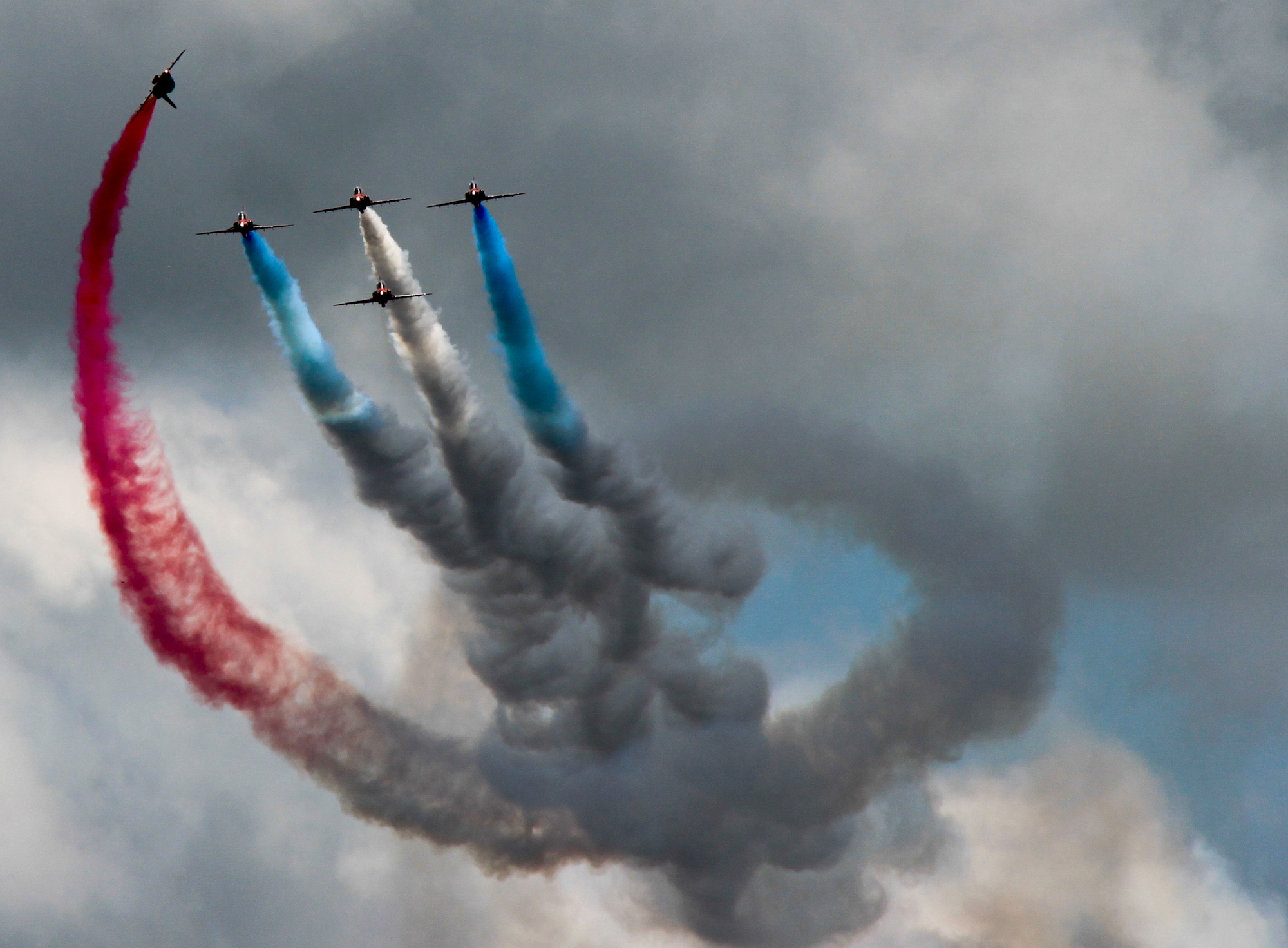 Aerial display at Goodwood Festival of Speed