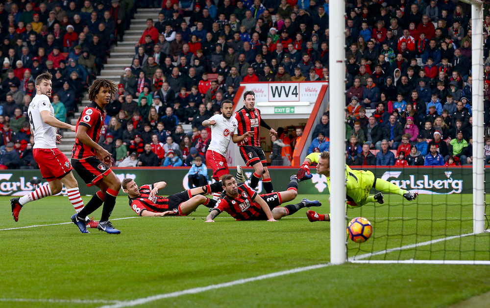 Southampton Football Club, Ryan Bertrand scores