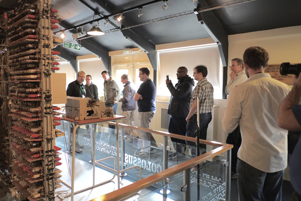 The team hears about Colossus from TNMoC volunteer, Chris
