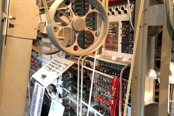 Part of the tape mechanism from Colossus