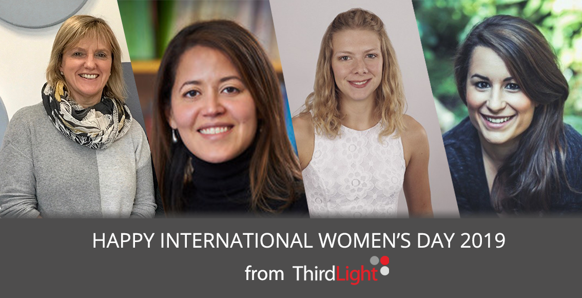 International Womens Day - Third Light team photo