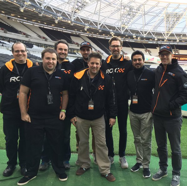 Third Light and Sagittarius team photo, Race Of Champions