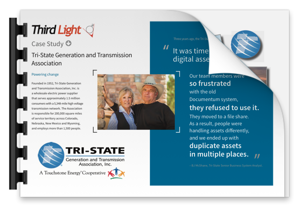 Digital Asset Management at Tri-State - Case Study of Third Light DAM